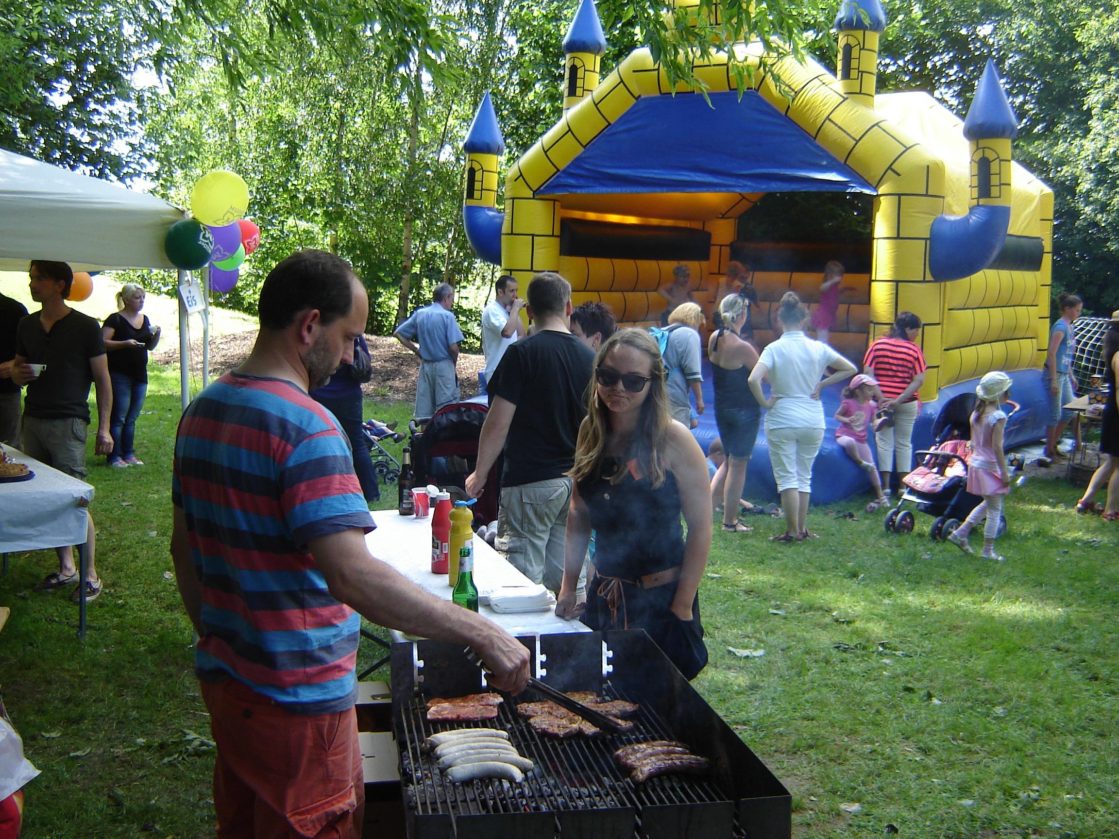 Blick über das Kinderfest 2013